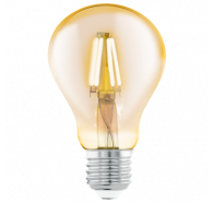 Eglo Gaint Gls Decore Amber 4W E27 2200K Led A75 Globes