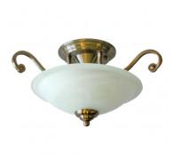 V & M Serena 9007/S 2 Light Stain Brass CTC