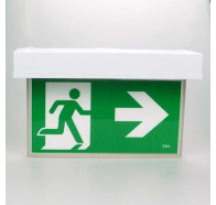 Lumos Blade-SM Led Emergency Light Exit Sign Surface Mounted