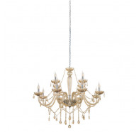 Eglo Basilano 12 Light Pendant Light Chandelier