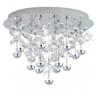 Eglo Pianopoli CTC Led WW Chrome & Crystal
