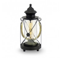 Eglo Bradford Black Lantern Table Lamp