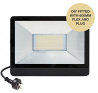 Martec 50W DIY Tricolour LED Security Flood Light