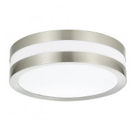 V & M Round Stainless Oyster Lights