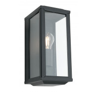 Cougar Anglesea Black 1 Light Exterior Wall Light