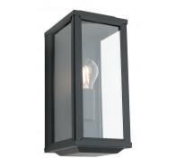 Cougar Anglesea Black 1 Light Exterior Wall Light