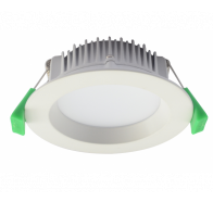 Tradetec Arte 13W Dimmable LED Downlights Kit in White