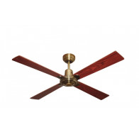 "Martec Alpha Antique Brass 1200mm 48"" Ceiling Fan"