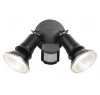 Telbix Comet 10W LED Twin Spot Floodlight with Sensor