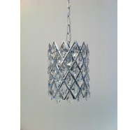 1 Light Chrome Pendant