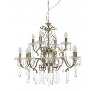 Fiorentino Giovana 12 Light Crystal Chandelier Pendant Light