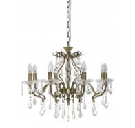 Fiorentino Giovana 8 Light Crystal Chandelier Pendant Light