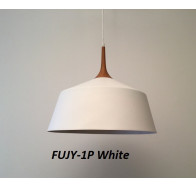 Fiorentino Fujy-27 1 light Wood Look Finish Pendant