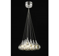 Fiorentino 10 Light Grape Led Cluster Ceiling