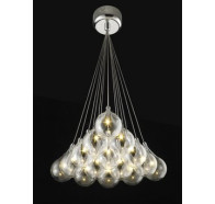 Fiorentino 15 Light Grape Led Cluster Ceiling