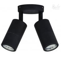 Havit HV1327MR16T Tivah Black TRI Colour Double Adjustable Wall Pillar Light