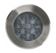Havit HV1847 Split 316 Stainless Steel 24W LED Round Inground Light
