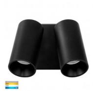 Havit HV3683T-BLK Revo Black TRI Colour Double Adjustable Wall Light
