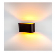 Havit HV8028-BLK Concept Black Aluminium LED Wall Light