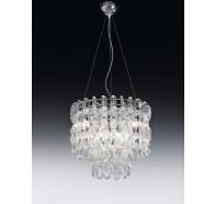 6 Light Murano Glass Pendant