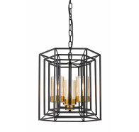 Telbix Lane 3 Light Pendant Light