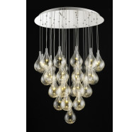 Fiorentino Grape LED Cascade Pendant