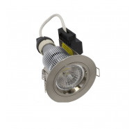 Martec Primary GU10 9W LED Fixed Dimmable Downlight Kit in Warm White