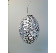 Oval 1 Light Pendant