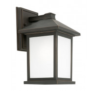 1 Light Exterior Wall Light