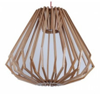 1 Light Wood Pendant