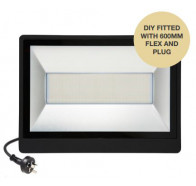 Martec 100W DIY Tricolour LED Security Flood Light