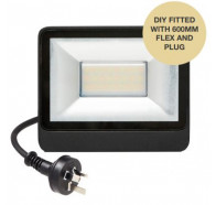 Martec 10W DIY Tricolour LED Security Flood Light