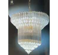 Fiorentino AB Gold 8 Light Chandelier