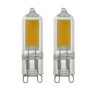 Eglo G9 Led Lamp 2w 3000k / 4000K 200lm Twin Pack