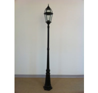 Fiorentino EPL6522 60W Post Light in Black