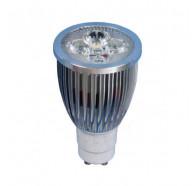 V & M 6 Watt LED Globe GU10