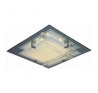v & m Croce Crystal LED Oyster Light 44cm