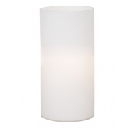 Eglo Geo 200mm Plain Opal Matte Glass Small Table Lamp