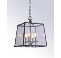 4 Light Glass Pendant