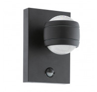 Eglo Sesimba 1 Up/Down 3.7W LED Exterior Wall Light with Sensor