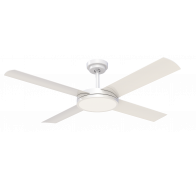"Hunter Pacific Revolution 3 52"" (1320mm) Indoor/Outdoor Ceiling Fan with 24W Dimmable LED Light"