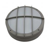 Atom AT5403/LED Large Round Grill Cast LED Bunker Light