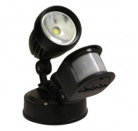 Atom AT9131 11W IP44 LED Single Spotlight With Sensor
