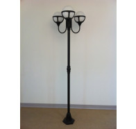 Fiorentino Post Lights in Black Color