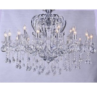 24 Light Crystal Chandelier