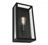 Cougar Chester Black 1 Light Exterior Wall Light