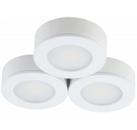 Martec Conceal 4W LED 3 Pack Cabinet Light