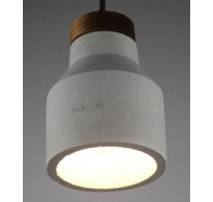 Fiorentino ELISA 1L Concrete Look Pendant Light