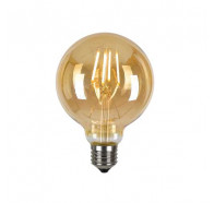 Telbix Filament LED G125 Sphere Globe
