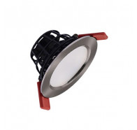 Telbix Flat 90 8W Modern Dimmable LED Downlight in White